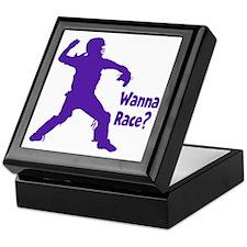 purple Wanna Race Keepsake Box
