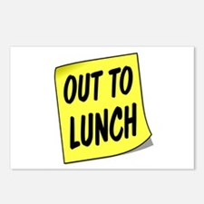 LUNCH Postcards (Package of 8)