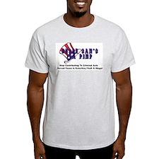 Uncle Sams  A Pimp- Ash Grey T-Shirt