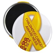Childhood Cancer Ribbon Magnets