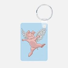 Flying Pig Keychains Keychains