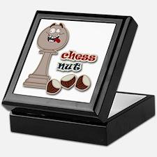 Chess Pawn, Chess Nut and Chestnuts Keepsake Box