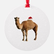 Merry Hump Day Camel Christmas Ornament
