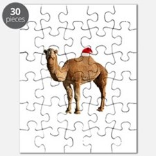 Merry Hump Day Camel Christmas Puzzle