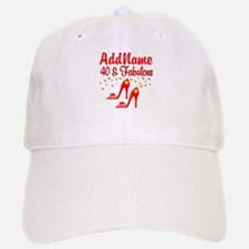 40TH STILETTO Baseball Baseball Cap