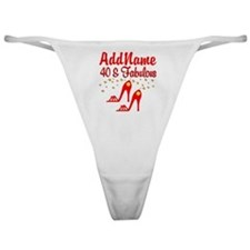 40TH STILETTO Classic Thong