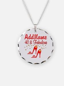 40TH STILETTO Necklace