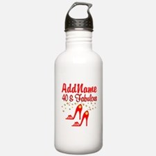 40TH STILETTO Water Bottle