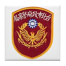 Taiwan Police Tile Coaster