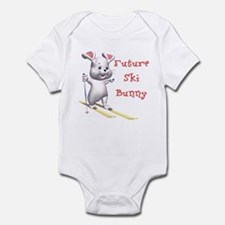 Future Ski Bunny Infant Bodysuit
