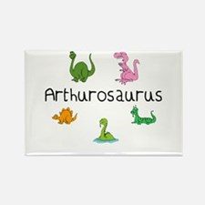 Arthurosaurus Rectangle Magnet