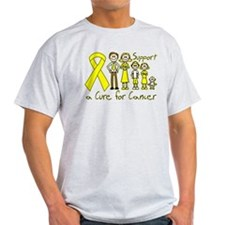 Testicular Cancer Support A Cure T-Shirt