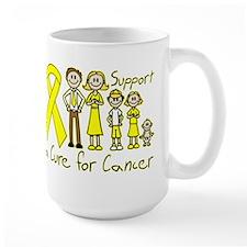 Testicular Cancer Support A Cure Mug
