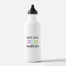 meditate Water Bottle