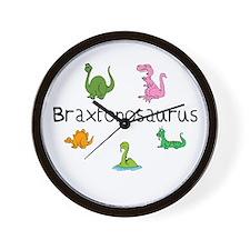 Braxtonosaurus Wall Clock