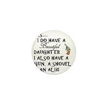 Daughter Mini Button