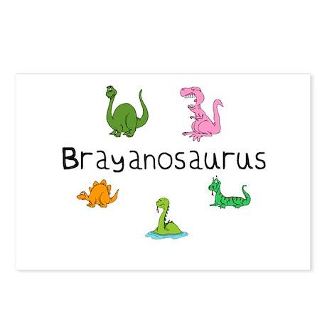Brayanosaurus Postcards (Package of 8)