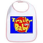 Trailer Baby Bib