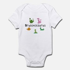 Brysonosaurus Infant Bodysuit