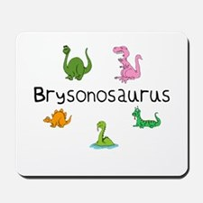 Brysonosaurus Mousepad