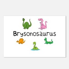 Brysonosaurus Postcards (Package of 8)