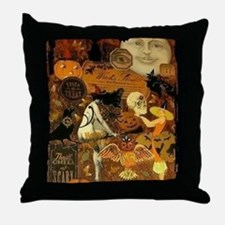 Witchs Stew Throw Pillow