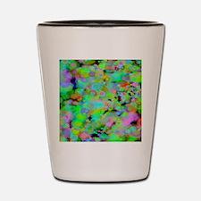 bubbles, shiny,70s green Shot Glass