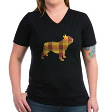 plaid french bulldog Shirt