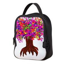 Tree of Life Neoprene Lunch Bag