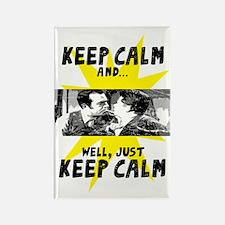 Keep Calm... Rectangle Magnet