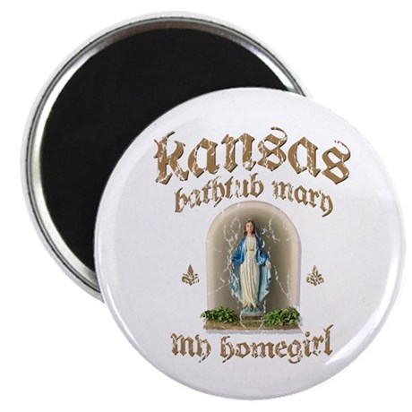 Kansas Bathtub Mary Magnet