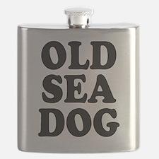 OLD SEA DOG Flask