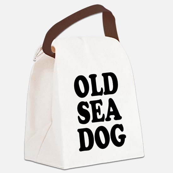 OLD SEA DOG Canvas Lunch Bag
