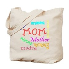 Many Names for Mom Tote Bag