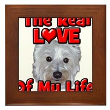RealLoveOfMyLife Westie Framed Tile