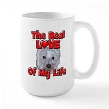 RealLoveOfMyLife Westie Mugs