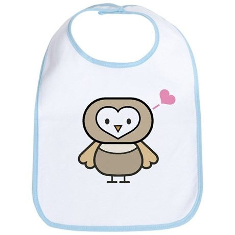 Owl Love Bib