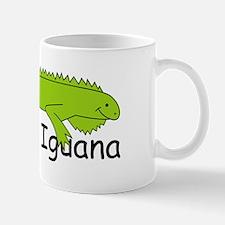I is for Iguana Mug