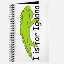 I is for Iguana Journal