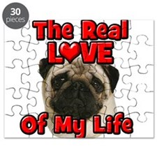 RealLoveOfMyLife Pug Puzzle