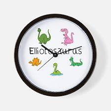 Elliotosaurus Wall Clock