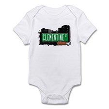 Clementine St, Bronx, NYC  Infant Bodysuit