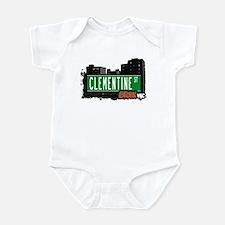 Clementine St, Bronx, NYC  Infant Bodysuit