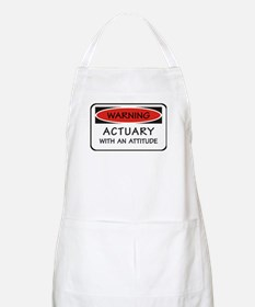 Actuary With An Attitude BBQ Apron