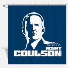 Agent Coulson Shower Curtain