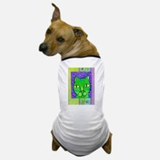Spring Green Cat Dog T-Shirt