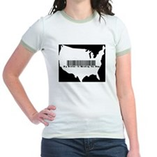 Big Brother is watching you shop -Ringer T-shirt