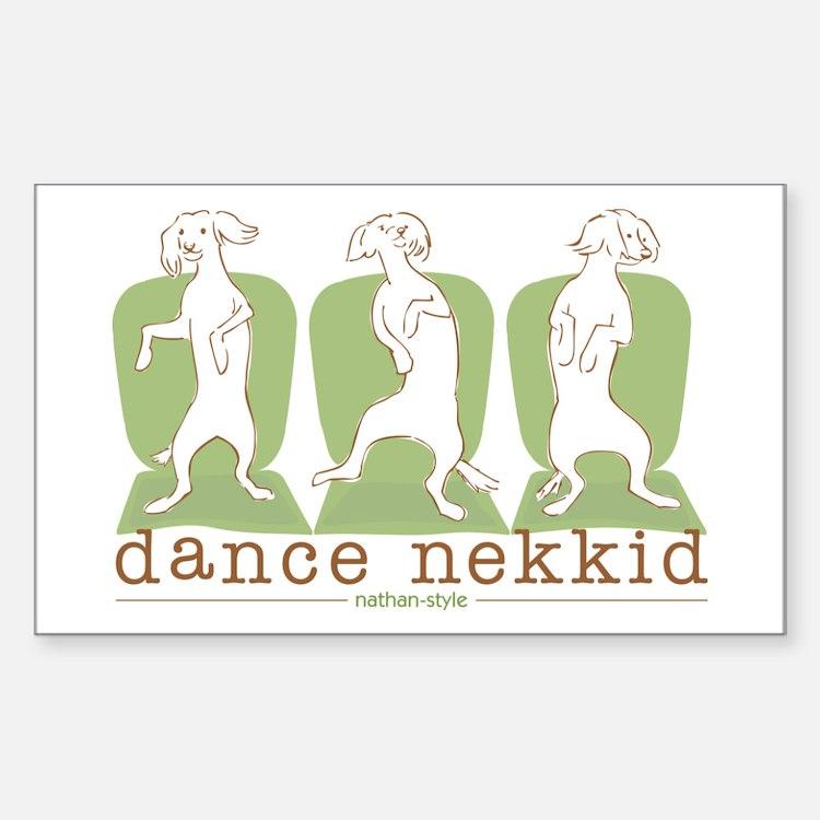 dance nekkid Decal