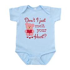 Bear Heart Melt Infant Bodysuit