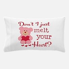Bear Heart Melt Pillow Case